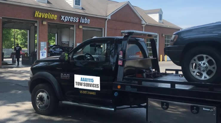 Local Dunwoody towing services